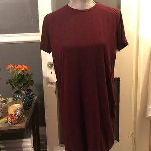 OS Brandy Melville Suede Dress